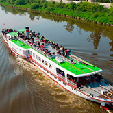 A Cruise to Slapy Every Weekend on a Historic Steamboat
