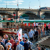 Corporate Events on the Steamboat Vltava
