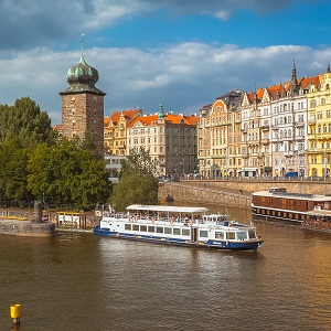 Discover Prague From the Water's Surface During Our One-Hour Cruise