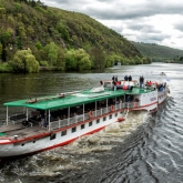 First ever cruises to Slapy on the Vltava steamboat