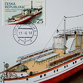 Launch Ceremony of New Stamps with the theme of the Steamer Franz Joseph I