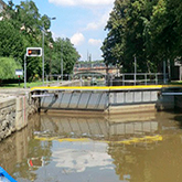 Smíchov Lock Temporarily Closed