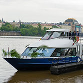 Take a Trip on the Boat Grand Bohemia from Kampa