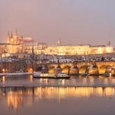 Winter cruises through Prague
