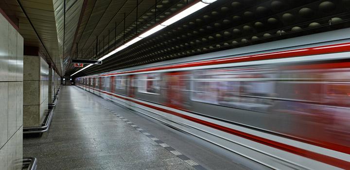 By metro