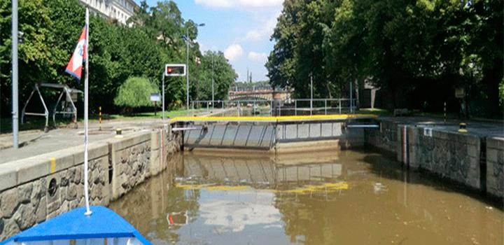 Smichov Lock
