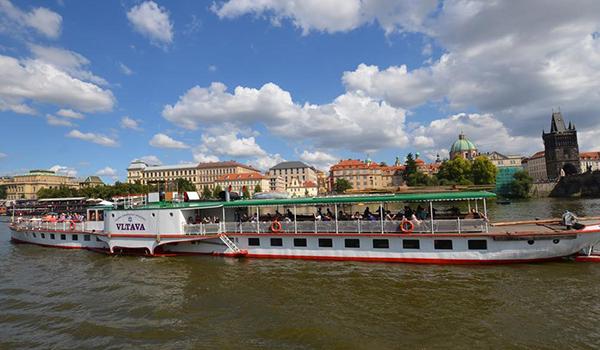Vltava steamboat