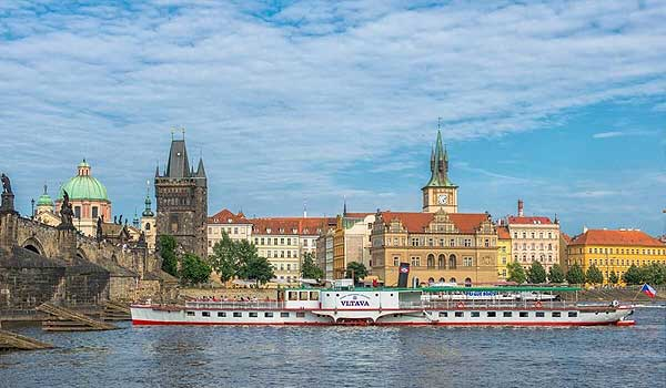 Dampfschiff Vltava