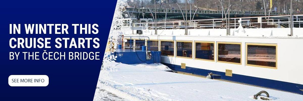 zimní plavba